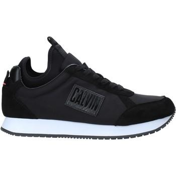 kengät Miehet Matalavartiset tennarit Calvin Klein Jeans B4S0715 Musta