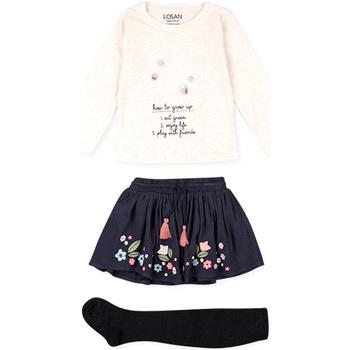 vaatteet Lapset Kokonaisuus Losan 026-8016AL Beige