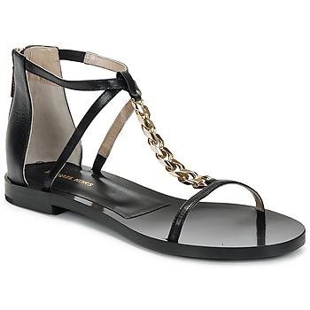 kengät Naiset Sandaalit ja avokkaat Michael Kors ECO LUX Musta