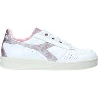 kengät Naiset Matalavartiset tennarit Diadora 201.174.753 Valkoinen