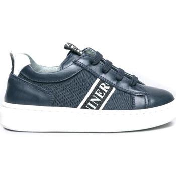 kengät Lapset Matalavartiset tennarit NeroGiardini I023922M Sininen