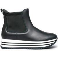 kengät Tytöt Bootsit NeroGiardini I031677F Musta