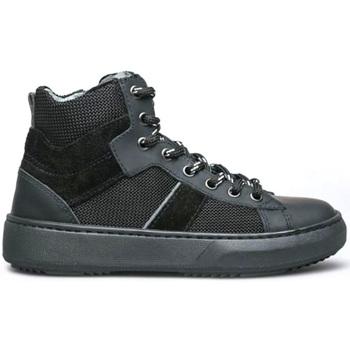 kengät Lapset Korkeavartiset tennarit NeroGiardini I033903M Musta