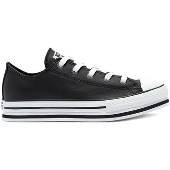 kengät Lapset Matalavartiset tennarit Converse 669710C Musta