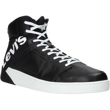 kengät Naiset Korkeavartiset tennarit Levi's 230699 931 Musta