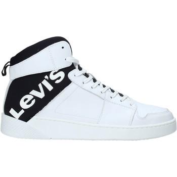 kengät Naiset Korkeavartiset tennarit Levi's 230699 931 Valkoinen