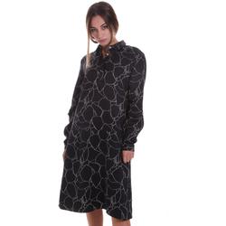 vaatteet Naiset Lyhyt mekko Calvin Klein Jeans K20K202227 Musta