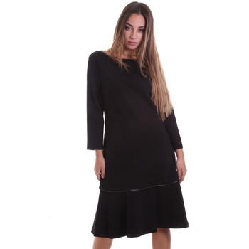 vaatteet Naiset Lyhyt mekko Calvin Klein Jeans K20K202271 Musta