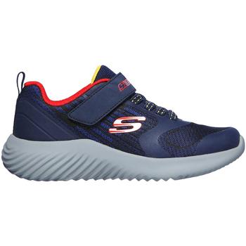 kengät Lapset Matalavartiset tennarit Skechers 403732L Sininen