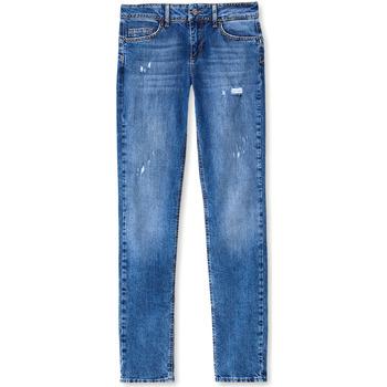 vaatteet Naiset Boyfriend-farkut Liu Jo UF0016 D3105 Sininen