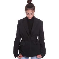 vaatteet Naiset Takit / Bleiserit Fracomina F120W07022W040D4 Musta