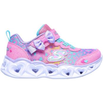 kengät Lapset Matalavartiset tennarit Skechers 302088N Vaaleanpunainen