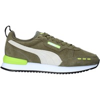 kengät Lapset Tennarit Puma 368589 Vihreä