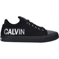 kengät Naiset Matalavartiset tennarit Calvin Klein Jeans B4R1631 Musta