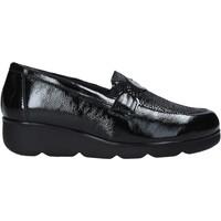 kengät Naiset Mokkasiinit Susimoda 800976 Musta