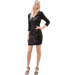 vaatteet Naiset Lyhyt mekko Fracomina F120W14034W01985 Musta