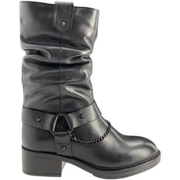 kengät Naiset Saappaat Apepazza F0BEATRIX01/LEA Musta
