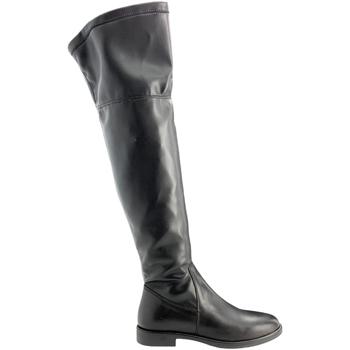 kengät Naiset Ylipolvensaappaat Grunland ST0463 Musta