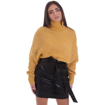 vaatteet Naiset Neulepusero Gaudi 021BD53013 Keltainen