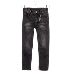 vaatteet Lapset Slim-farkut Losan 023-9000AL Musta