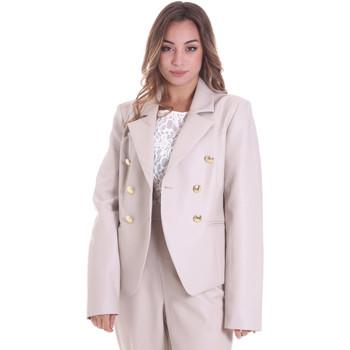 vaatteet Naiset Takit / Bleiserit Fracomina F120W07023E00701 Beige