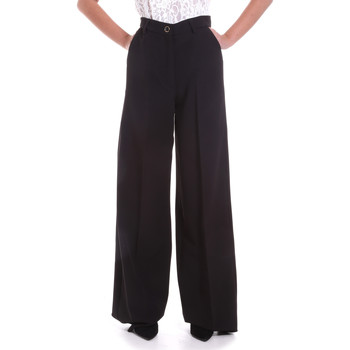 vaatteet Naiset Väljät housut / Haaremihousut Fracomina F120W10069W05301 Musta