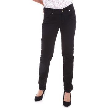 vaatteet Naiset 5-taskuiset housut Gaudi 821BD25025 Musta