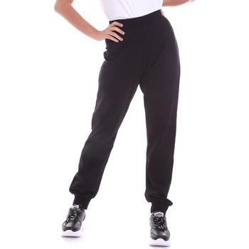 vaatteet Naiset Housut Key Up 5FI47 0001 Musta