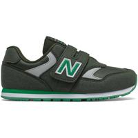 kengät Lapset Matalavartiset tennarit New Balance NBIV393CGN Vihreä
