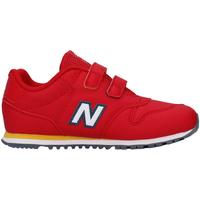 kengät Lapset Matalavartiset tennarit New Balance NBIV500RRY Punainen