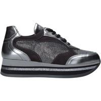 kengät Naiset Matalavartiset tennarit Grace Shoes GLAM001 Hopea