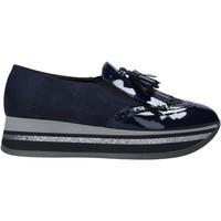 kengät Naiset Mokkasiinit Grace Shoes GLAM004 Sininen