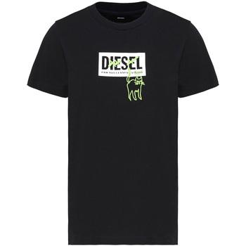 vaatteet Naiset Lyhythihainen t-paita Diesel A00255 0HERA Musta