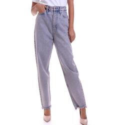 vaatteet Naiset Suorat farkut Calvin Klein Jeans K20K202116 Vaaleanpunainen
