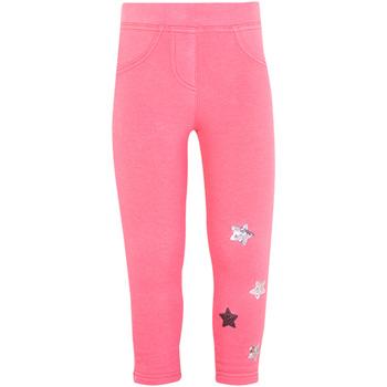 vaatteet Tytöt Legginsit Losan 026-6015AL Vaaleanpunainen