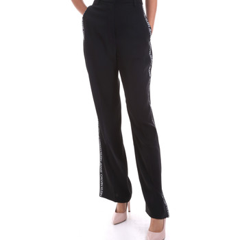 vaatteet Naiset Väljät housut / Haaremihousut Calvin Klein Jeans J20J214905 Musta