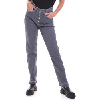 vaatteet Naiset Suorat farkut Calvin Klein Jeans K20K202114 Harmaa