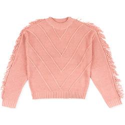 vaatteet Lapset Neulepusero Losan 024-5002AL Vaaleanpunainen