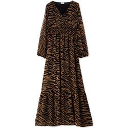vaatteet Naiset Pitkä mekko Liu Jo WF0194 T0110 Musta
