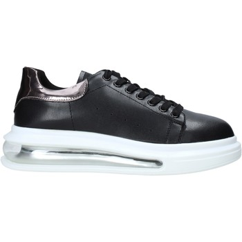 kengät Naiset Matalavartiset tennarit Café Noir XV941 Musta