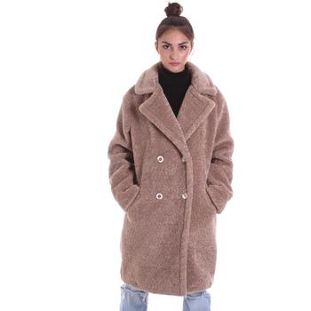 vaatteet Naiset Paksu takki Gaudi 021FD39007 Beige