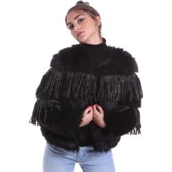 vaatteet Naiset Takit Gaudi 021FD39009 Musta