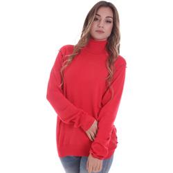 vaatteet Naiset Neulepusero Gaudi 021BD53026 Punainen