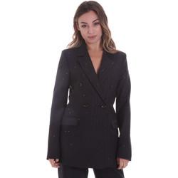 vaatteet Naiset Takit / Bleiserit Gaudi 021FD35022 Musta