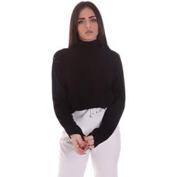 vaatteet Naiset Neulepusero Gaudi 021BD53026 Musta