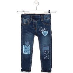 vaatteet Lapset Suorat farkut Losan 026-6019AL Sininen