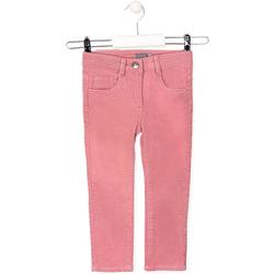vaatteet Lapset 5-taskuiset housut Losan 026-9001AL Vaaleanpunainen