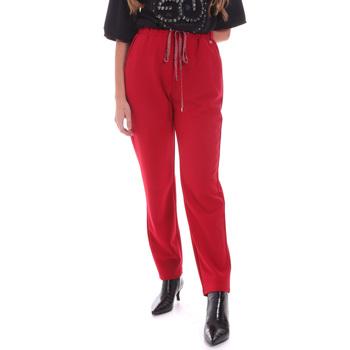 vaatteet Naiset Housut Gaudi 021BD25026 Punainen