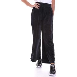 vaatteet Naiset Väljät housut / Haaremihousut Key Up 5CS54 0001 Musta