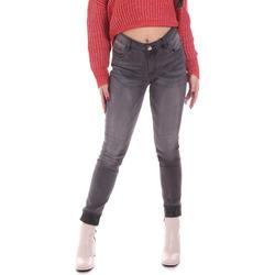 vaatteet Naiset Skinny-farkut Gaudi 021BD26024 Harmaa